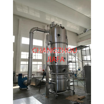 Mesin granulator spray spray atas fluida