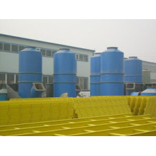 Desulphurization at denitrification deduster