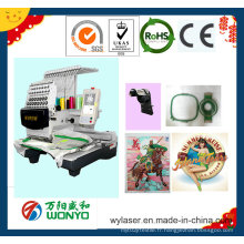 Machine commerciale simple de broderie de tête avec le meilleur prix Wy1201CS / 1501CS / 1201cl / 1501cl