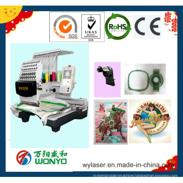Commercial Single Head Embroidery Machine with Best Price Wy1201CS/1501CS/1201cl/1501cl