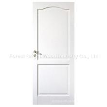 2 puertas de madera residenciales interiores del panel con la tapa del arco