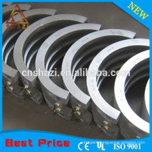 Vacuum molding aluminum cast in heater