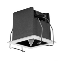 Square rectangle cct tunable head flexible dimmable deep anti glare ceiling lamp 15w 30w 36w led grille lights
