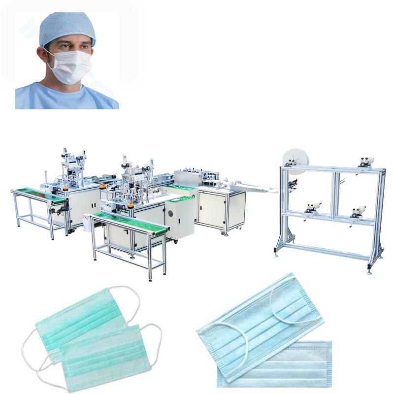 Flat Mask Machine for Surgical