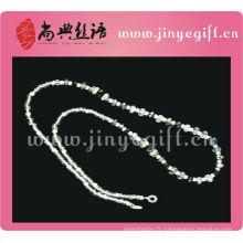 Perles noires perlées de Sunglass de perle de mode