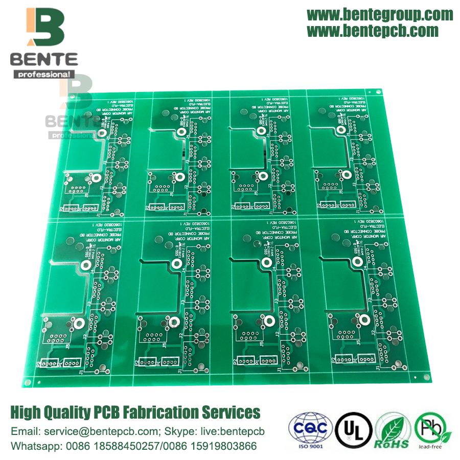 Low-Cost-PCB-Immersion Zinn 2 Schichten PCB FR4 Tg135