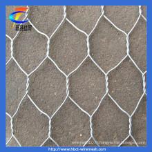 Filet hexagonal galvanisé