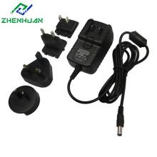 Multi Plug AC DC Adapter 12V 0.5A 500mA