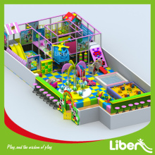 Indoor play with Ball Pool Pit Climbing structure