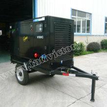 20квт передвижного трейлера Тепловозный комплект генератора с двигателем yangdong Китай