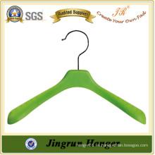 En línea más barato confiable fábrica de plástico suspensión colgador de ropa