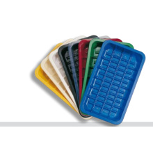 Utilisation de nourriture et plateaux de nourriture congelés en plastique de catégorie comestible emballant l'emballage pour frais