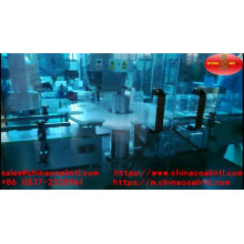 Machine de capsulage et de étiquetage remplissante de bouteille de parfum automatique de 5-50ml