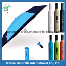 Зонтик зонтика вина бутылки вина промотирования способа промотирования