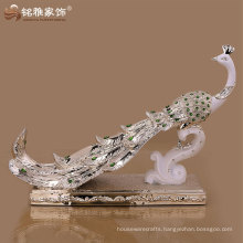 china peacock decoration fancy decorative items high quality peacock bird