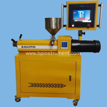 Single screw extruder / PLC control