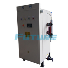 Gerador de vapor elétrico para linha de produção de iogurte
