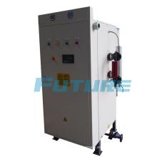 Controlador inteligente 216kw generador de vapor eléctrico