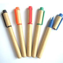 Eco Содружественные Kraft бумажный шарик ручка с логотипом (размер XL-11509)