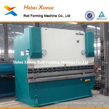 WC67Y hidráulico CNC placa hidráulica prensa freno