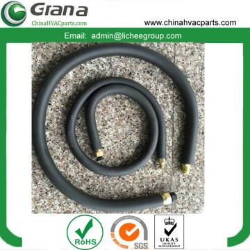 Black rubber copper-aluminum pipe