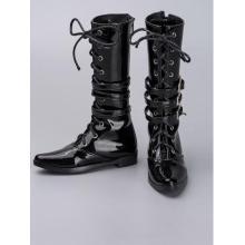 Herren Schwarz Hohe Stiefel Rshoes70-38 für 70cm BJD