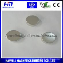 round neodymium magnet for clothing handbag