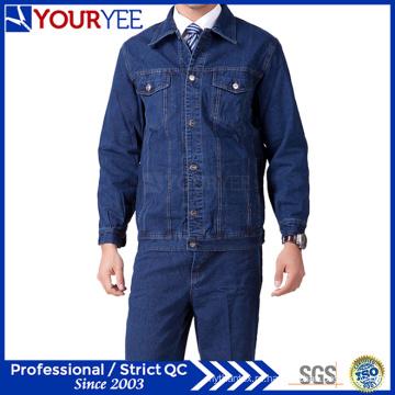 Доступный костюм джинсовой одежды высокого качества равномерный костюм (YMU123)