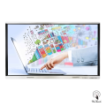 86 pollici 4K Touch Monitor con supporto mobile