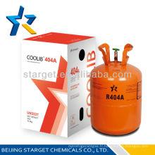 Fluide réfrigérant mixte de haute qualité R404A gaz dans le cylindre CE 10.9 kg / 24 lb