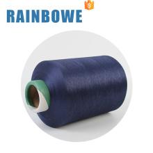 hilados de tejer coloridos del calcetín del hilado cubierto de Spandex del material crudo colorido