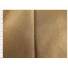Tela de sarga de spandex de algodón y poliéster para abrigo