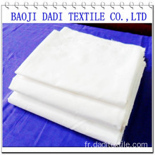 white plain cloth textile