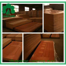 EV-Oak HDF/MDF Molded Veneer Door Skin for Home Decoration