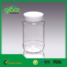 double wall plastic jar