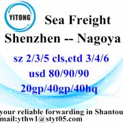 Shenzhen Internacional de contenedores de envío a Nagoya