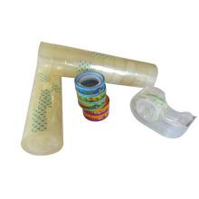 Ruban de papeterie acrylique BOPP super clair