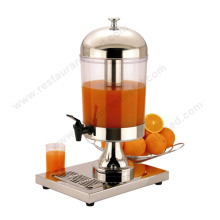 Cafeteria Equipment Automatic Acrylic Refrigerated Juice Dispenser