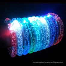 LED light wristband /sport Acrylic bracelet for events