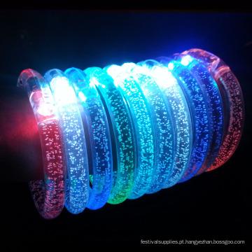 Pulseira de luz LED / sport Pulseira de acrílico para eventos