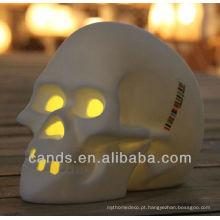 Lâmpada de mesa conduzida colorida do bulbo do crânio especial novo de 2013