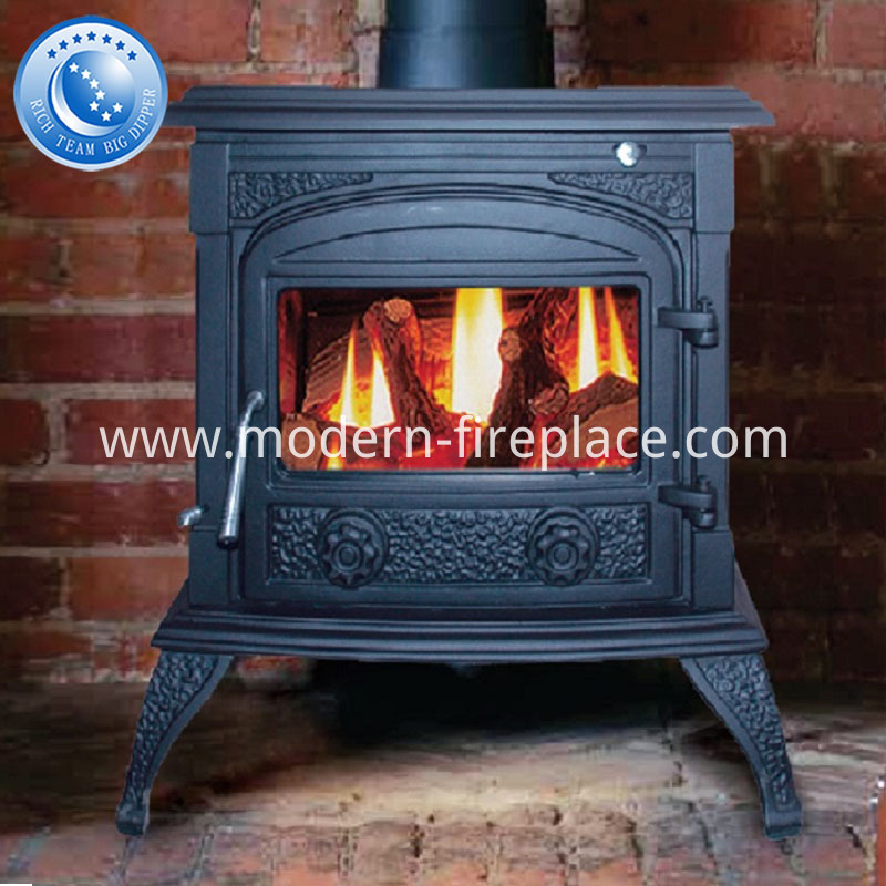 Black Cast Iron Wood Burning Stoves