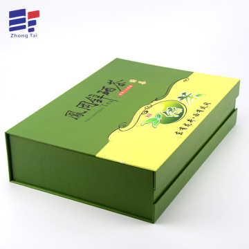 Offset printing folding tea packaging box