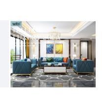 Meubles modernes de canapé de luxe léger de nouvelle mode
