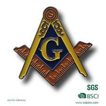 Значок Pin штыря масонской фабрики Zhongshan (XDBG-259)