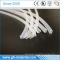 Tuyauterie en silicone transparente de qualité électroconductrice carrée