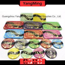 Анти-фальсификация Bronzing Poker Chip (YM-CP022-23)