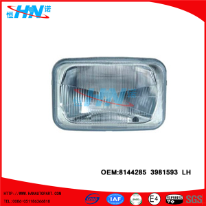 Replacement Head Lamp 8144285 3981593 Truck Parts