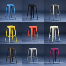 Atacado Vintage Industrial Metal Tolix H Stool (SP-MC037)