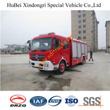 6ton Dongfeng спринклерная водяная пожарная машина Euro4
